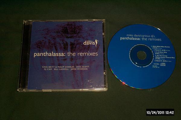 Miles davis - Panthalassa remixes cd nm