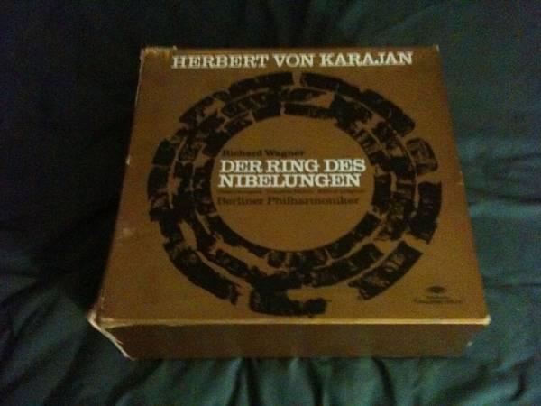 Herbert Von Karajan - RING des nibelungen wagner-19 lp set