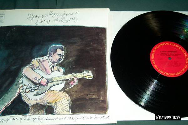 Django reinhardt - Swing It Lightly lp nm