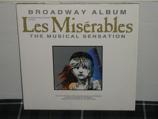 Broadway Album - Les Miserables Still in shrink 2 lp gatefold