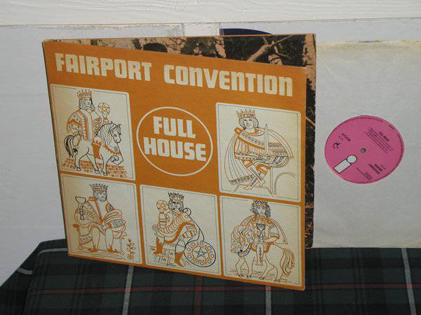 Fairport Convention - Full House UK Pink Island ilps 9130