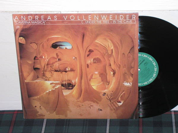 Andreas Vollenweider - Caverna Magica (Pics) Still in shrink as new