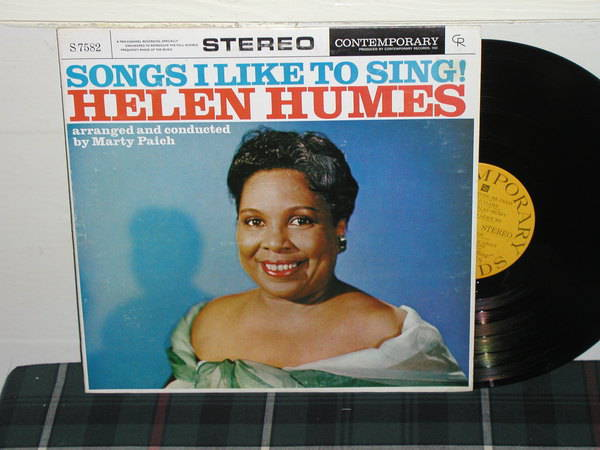 Helen Humes - Songs I Like To Sing (pics) Contemporary S7580 stereo