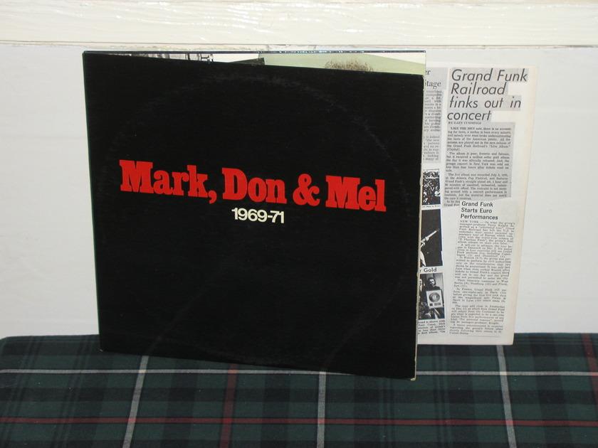 Grand Funk Railroad - Mark,Don&Mel (Pics) Capitol 2LP set.
