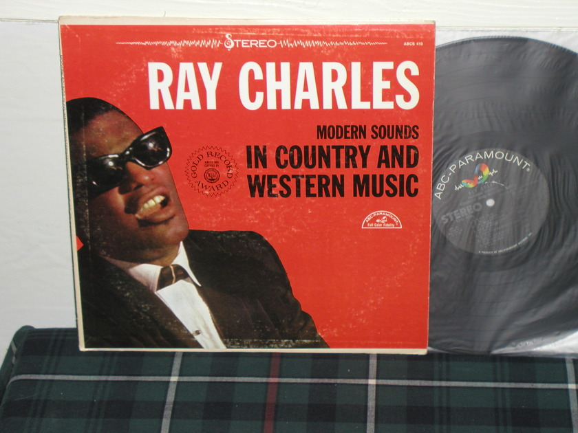 Ray Charles - Modern Sounds In C&W Music (Pics) ABC first label pressing
