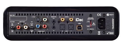 Peachtree Audio iDAC Modified Class A DAC's