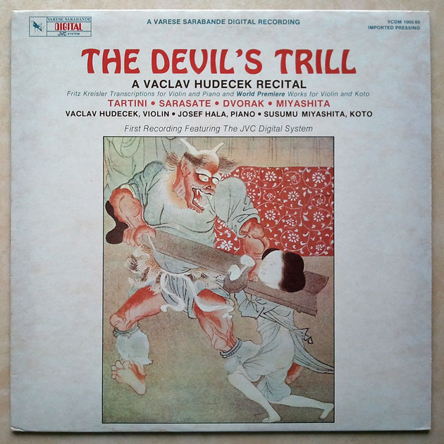 Audiophile JVC Recording & Pressing / - Vaclav Hudecek Recital / The Devil's Trill