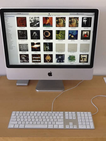 Apple iMac 24-inch Music Server