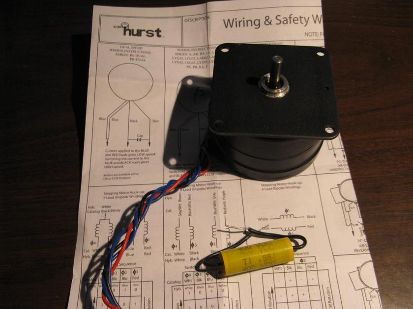 VPI 300 rpm motor Replace your 600 rpm with 300 rpm This is for the motor only
