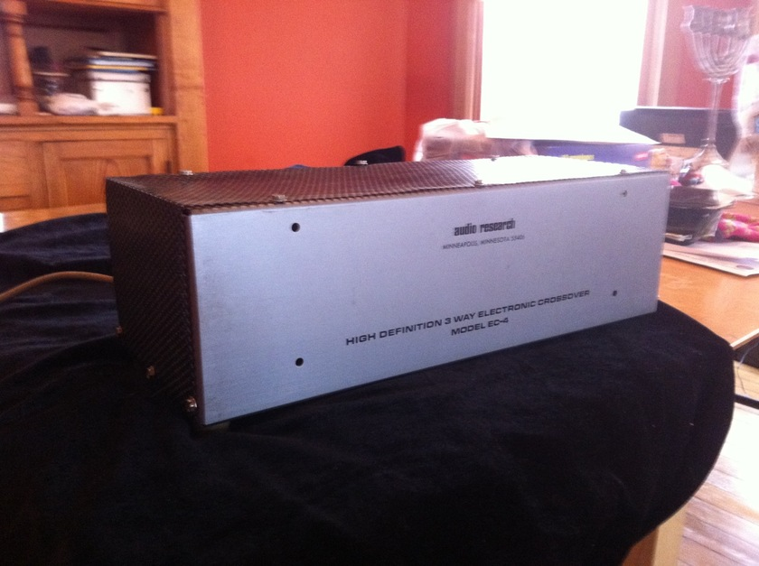 Audio Research Ec-4 Electronic Crossover 3 way