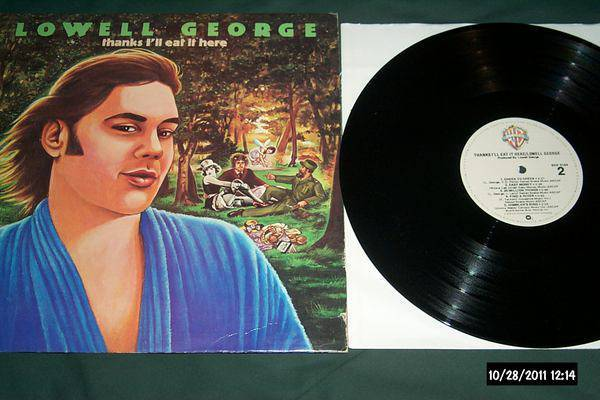 Lowell george - Thanks I Eat It here lp nm