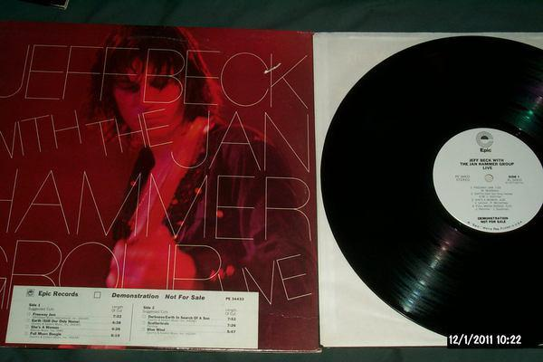 Jeff beck - With Jan Hammer group live white label promo