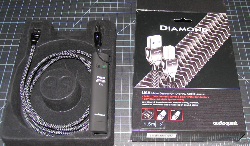 AudioQuest Diamond USB 1.5 meter Like New!