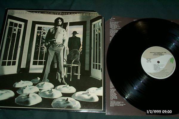 Michael Nesmith - Infinite Rider On the big dogma lp nm