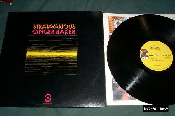Ginger baker - Stratavrious lp nm