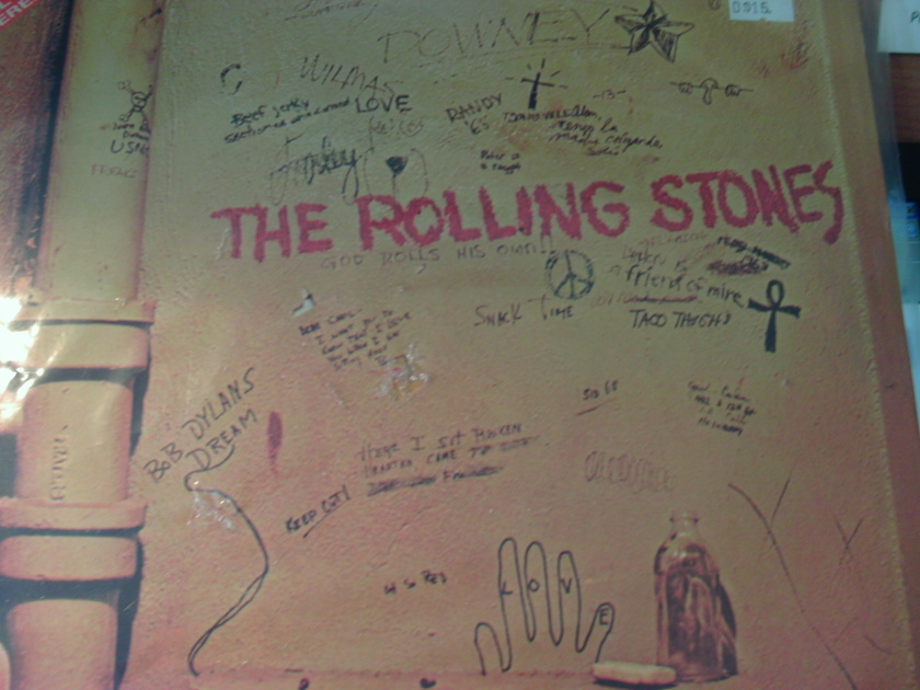 THE ROLLING STONES - BEGGARS BANQUET IMPORT HALF SPEEED DI9GITAL