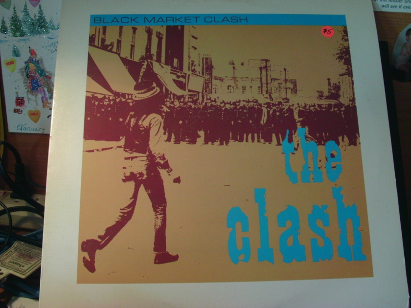 THE CLASH - BLACK MARKET CLASH CANADA  12INCH