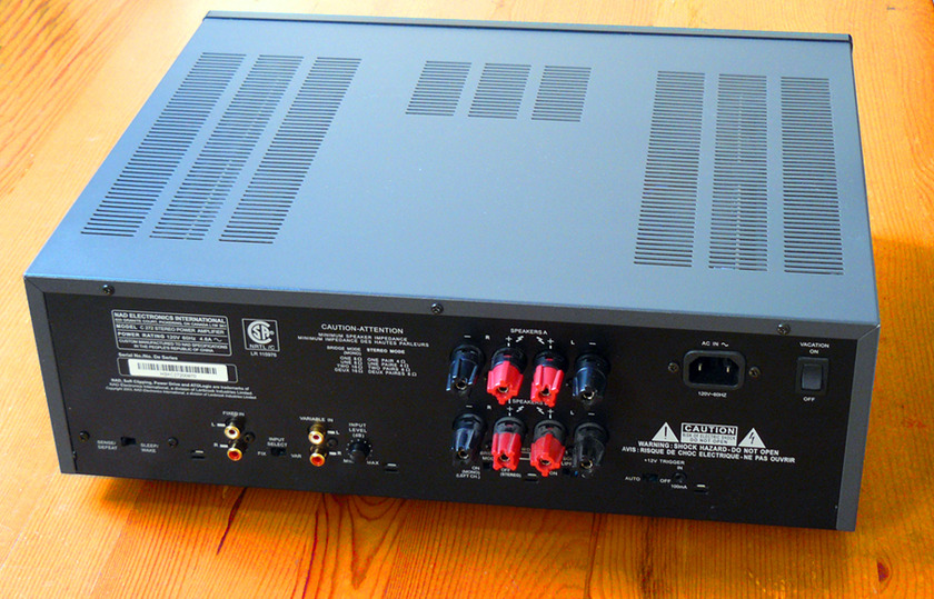 NAD C272 High current amp Incredible value