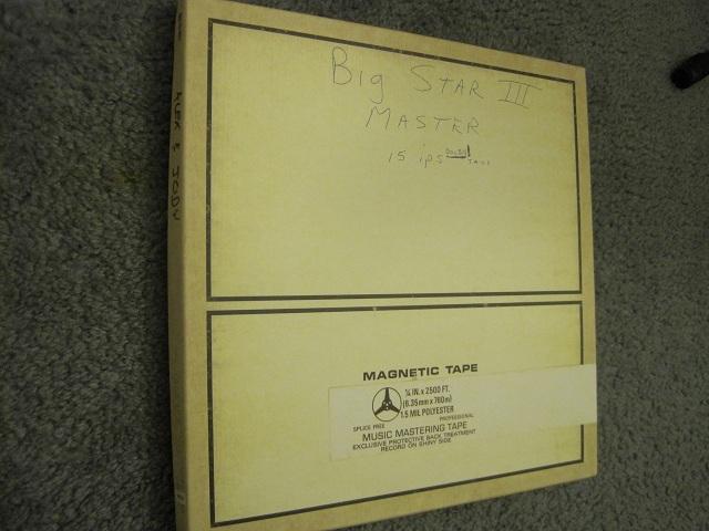Big Star - Third test pressing RSD black vinyl rare OOP