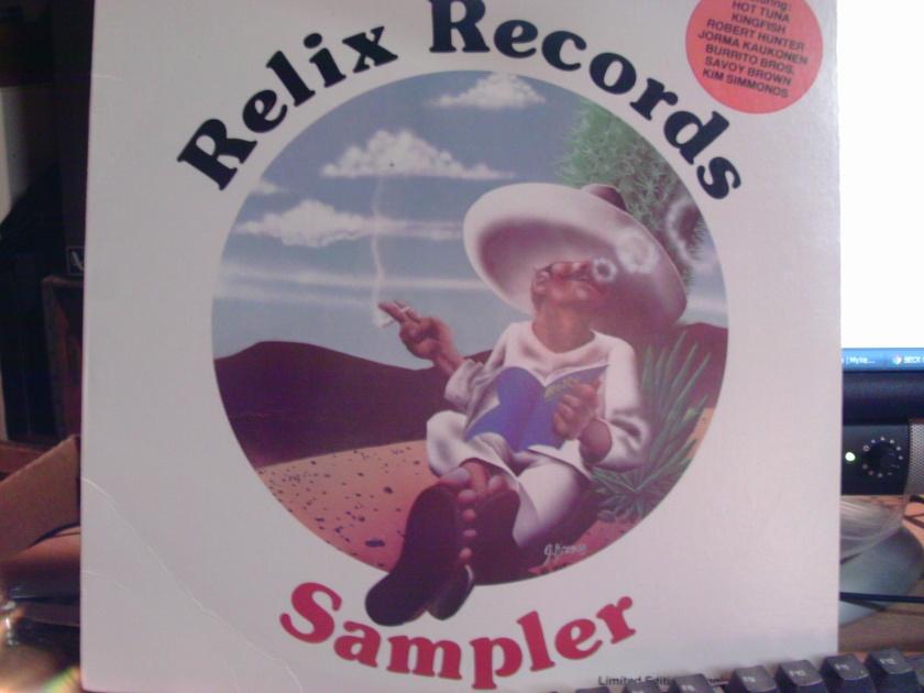 RELIX RECORDS - SAMPLER