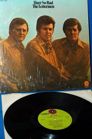 "THE LETTERMEN -  - ""Hurt So Bad"" - Capitol 1969 1st pressing"