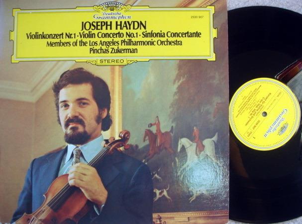 DG / Haydn Violin Concerto No.1, - ZUKERMAN/LPO, MINT!