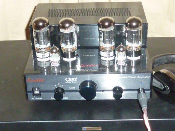 Cary Audio Xciter Cardas upgrades