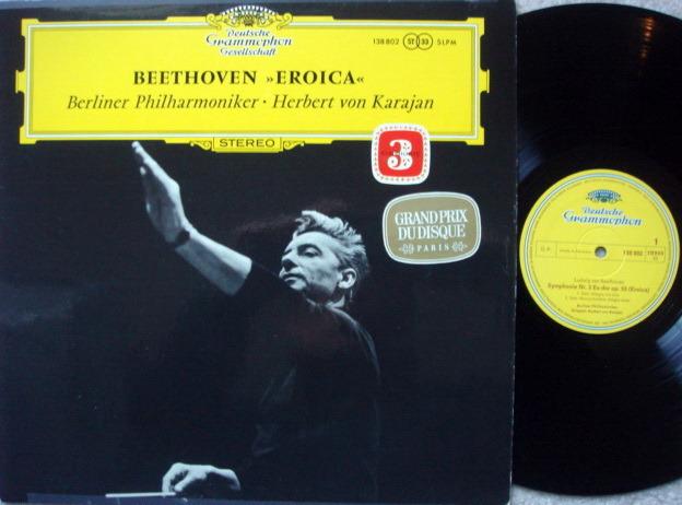 DGG / Beethoven Symphony No.3 Eroica, - KARAJAN/BPO, MINT!