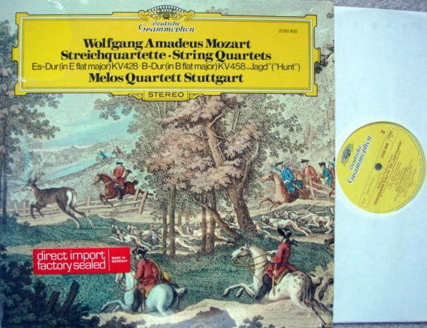 DG / Mozart String Quartets KV.428 & 458, - MELOS QUARTET, MINT!