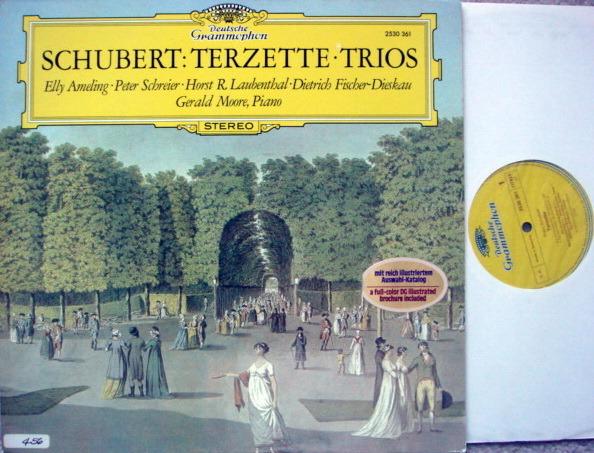 DG / Schubert Trios, - AMELING/SCHREIER/FISCHER-DIESKAU, MINT!