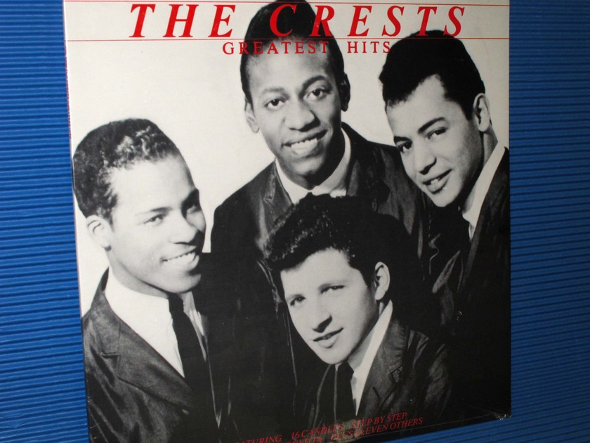 """THE CRESTS (Johnny Maestro) -  - """"Greatest Hits"""" - Collectables 1982"""