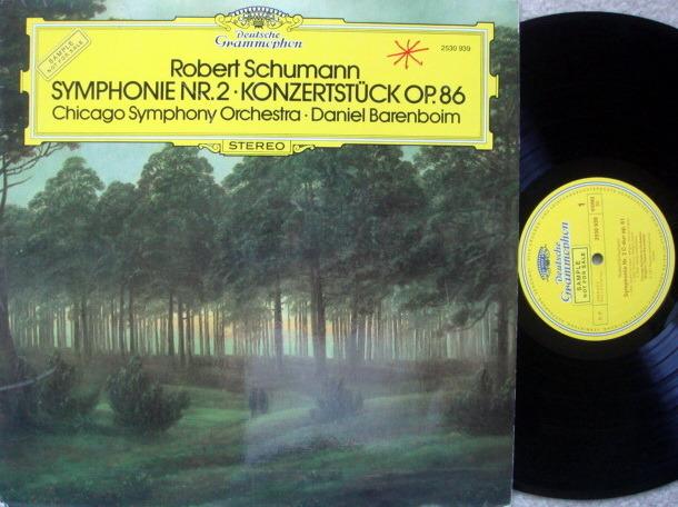 DG / Schumann Symphony No.2, - BARENBOIM/CSO, NM, Promo Copy!