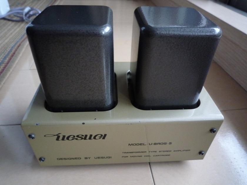 UESUGI  U-BROS-5  LOW TYPE STEP UP TRANSFORMER