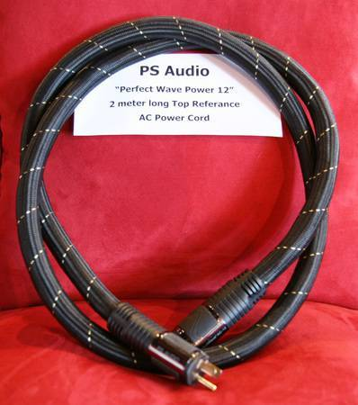 PS Audio Power Cord AC 12 2 metre long