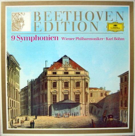 DG / Beethoven Complete 9 Symphonies, - BOHM/VPO, MINT, 8LP Box Set!