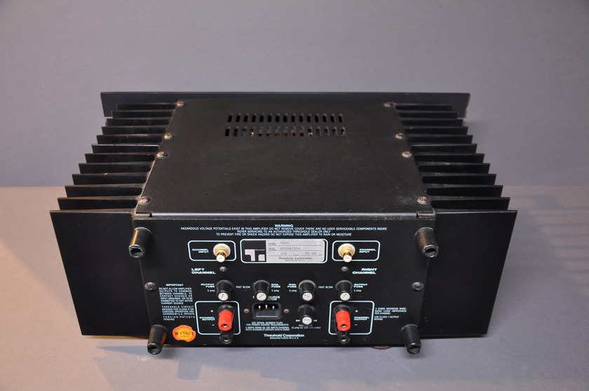Threshold 400A Class A 100Watts/channel
