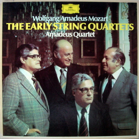 DG / Mozart The Early String Quartets, - AMADEUS QUARTET, MINT, 4LP Box Set!