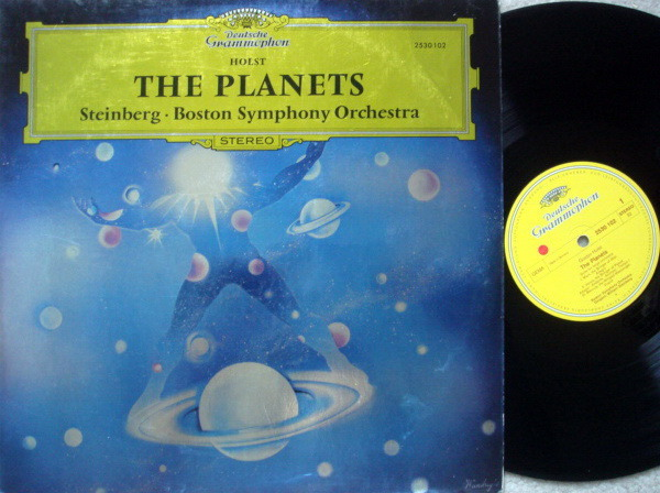 DG / Holst The Planets, - STEINBERG/BSO, NM!