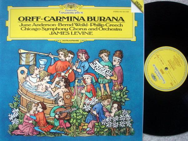 DG Digital / Orff Carmina Burana, - LEVINE/CSO, MINT!