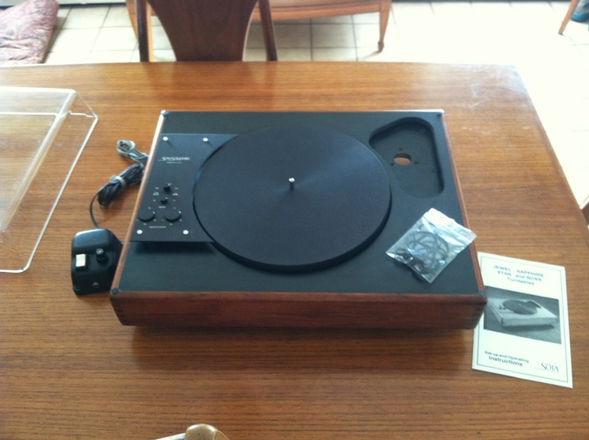 Sota Saphire turntable steal for the price!
