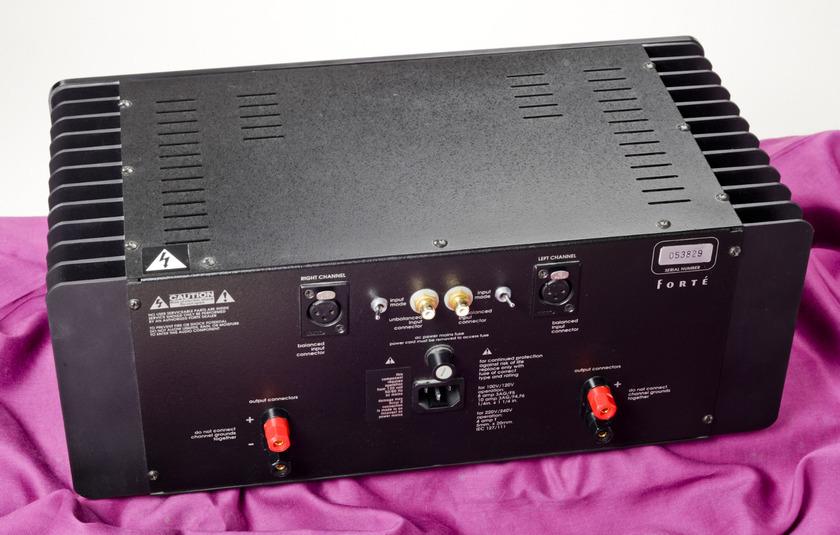 Forte 4 Class A 50-watt Stereo Amp
