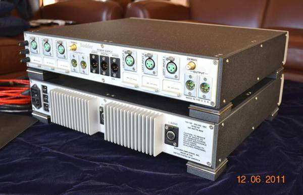 Boulder 2008 Phono Preamp & Power Supply
