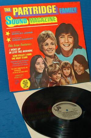 "THE PARTRIDGE FAMILY -  - ""Sound Magazine"" - Bell 1971 rare!"