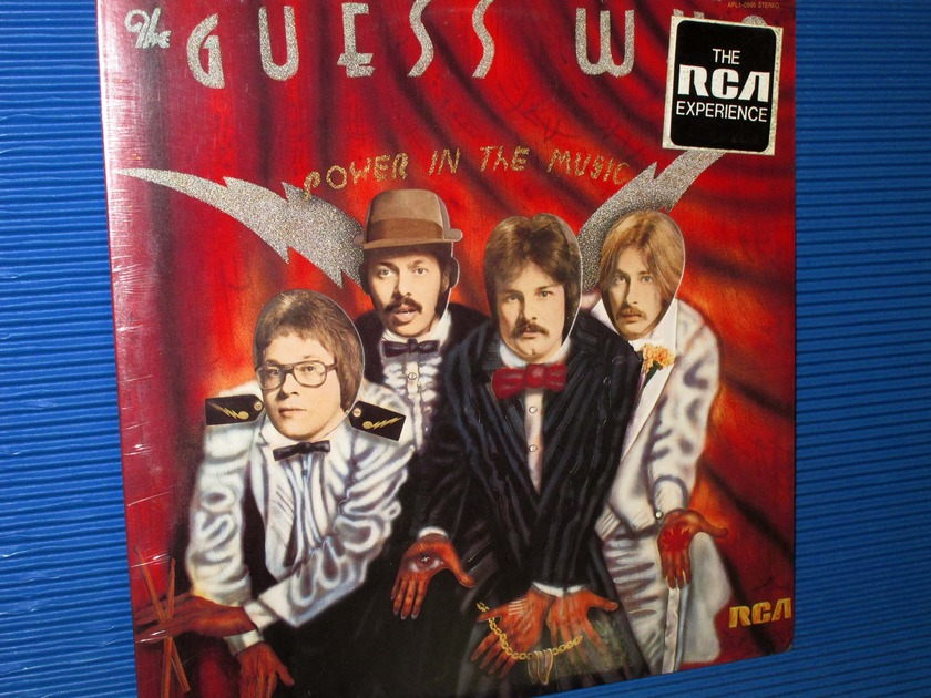 "THE GUESS WHO -  - ""Power In The Music"" -  RCA 1975 no Bar Code Sealed"