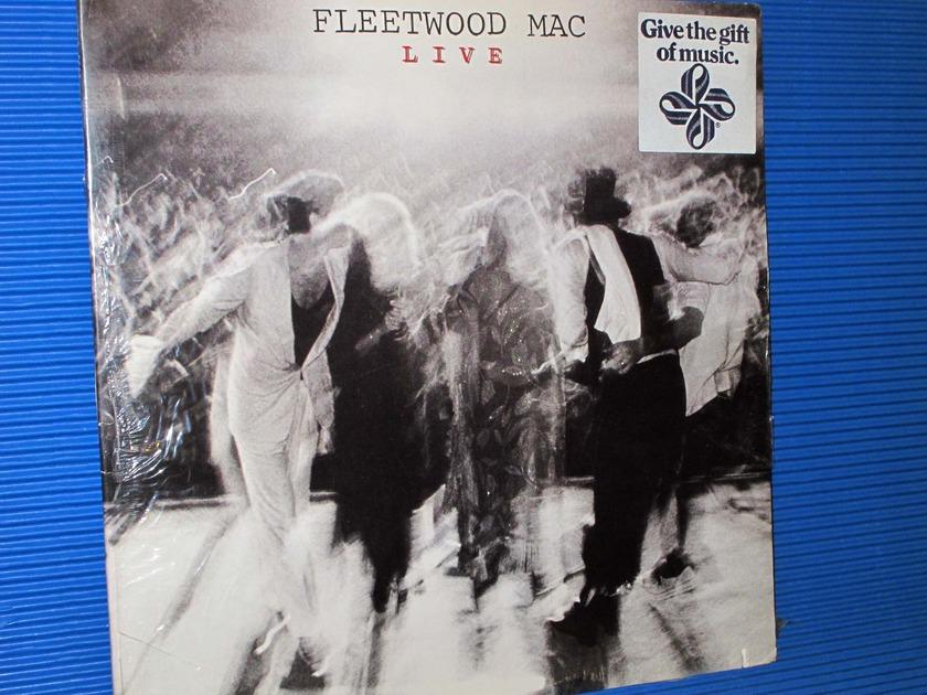 """FLEETWOOD MAC -  - """"Live"""" -  Warner Bros. 1980 2LP set no Bar Code Sealed!"""