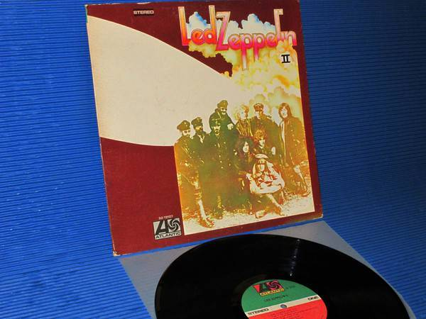 "LED ZEPPELIN - - ""Led Zeppelin II- Atlantic 1977 side 1 Hot Stamper"