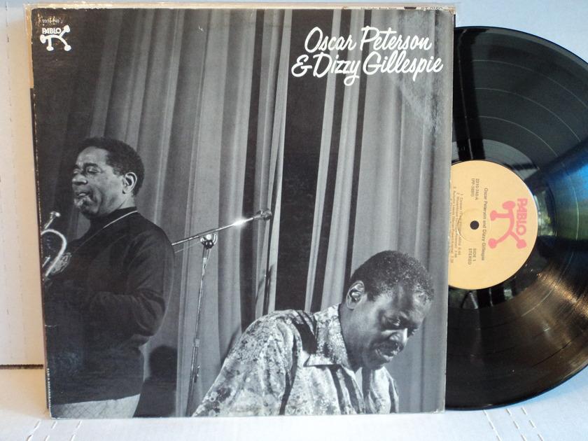 Oscar Peterson & Dizzy Gillespie - 1975 Pablo Records NM