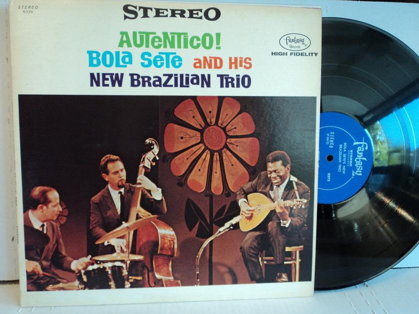 Bola Sete And His New Brazilian Trio - Authentico! 1966 Fantasy Records NM