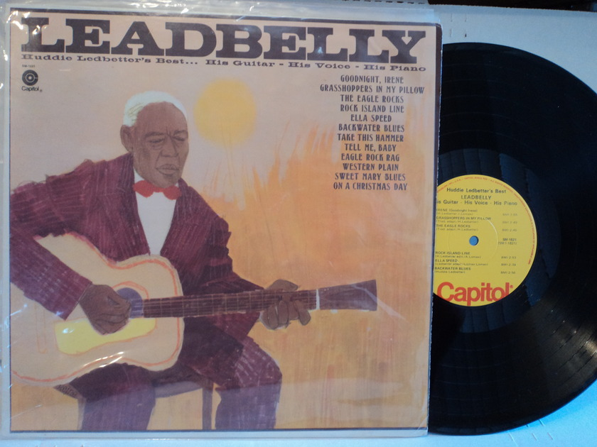 Leadbelly - Huddie Ledbetter's Best... Capitol SM- 1821 Yellow label NM