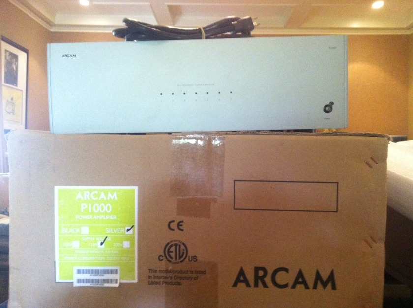 Arcam P-1000 7 CH 135W Power Amplifier